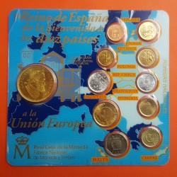 . ESPAÑA FNMT CARTERA E87 PROOF 1+200 PESETAS 1987 E-87 @OFERTA@