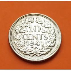 HOLANDA 10 CENTIMOS 1941 KM*173 ZINC III REICH NAZI