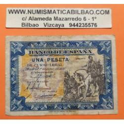 ESPAÑA 1 PESETA 1940 JUNIO 1 HERNAN CORTES E667 SC- PICK 121