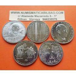 . ALEMANIA 10€ EUROS 2014 A+D+F+G+J NICKEL SC Germany BRD