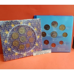 FINLANDIA CARTERA EUROS 2002 : 1+2+5+10+20+50 Centimos 1€+2€ SET