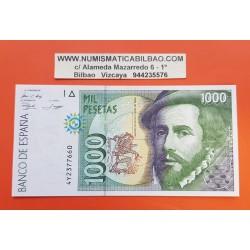 1000 PESETAS 1992 OCTUBRE 12 SERIE 5J SC c/u ESPAÑA