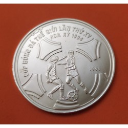 VIETNAM 100 DONG 1989 ROWING BARCELONA OLYMPIC SILVER KM*31