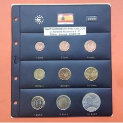 ESPAÑA EUROS 2009 SC 1+2+5+10+20+50 Centimos 1€+2€ + 2€ EMU
