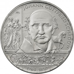 ....ALEMANIA 10€ EUROS 2014 A GOTTFRIED NICKEL SC MONEDA COIN