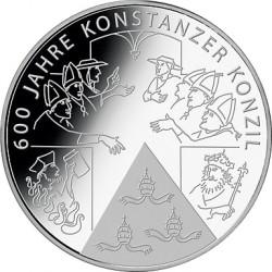 .....ALEMANIA 10€ EUROS 2014 F CONCILIO CONSTANTINO NICKEL SC