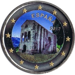 . .2 EUROS 2015 BANDERA EUROPEA ESPAÑA SC Moneda Coin