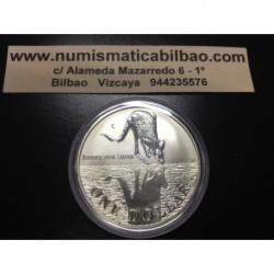 AUSTRALIA 1 DOLAR 1997 CANGURO PLATA Silver Kangaroo Känguru $1