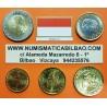 MONACO SERIE EUROS 2001 : 1+2+5+10+20+50 Centimos 1+2€ ((RARA))