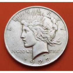 ESTADOS UNIDOS 1 DOLAR 1923 S PEACE PAZ PLATA EBC- Silver Dollar
