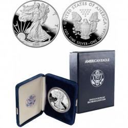 .ESTADOS UNIDOS 1 DOLAR 1995 S EAGLE PLATA Silver Proof Us Mint