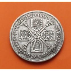 .AUSTRALIA 1 FLORIN 1951 CETROS PLATA SC Silver KM*47 Jubilee