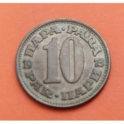 SERBIA 5 PARA 1904 NICKEL KM*18 MBC+ Yugoslavia