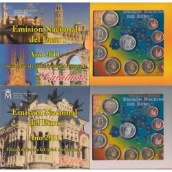 ESPAÑA CARTERA FNMT EUROS COMUNIDADES 2011 (2 uds) KMS SET