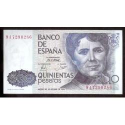 500 PESETAS 1979 OCTUBRE 23 SERIE 9A SIN CIRCULAR ESPAÑA