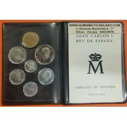. 1984 ESPAÑA CARTERA SC 1+2+5+10+25+50+100 PESETAS SIN CIRCULAR