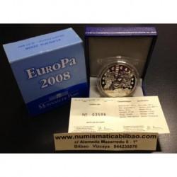 FRANCE FRANKREICH 1,50 EUROS 2008 SILVER PP EUROPA