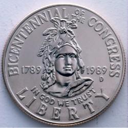 ESTADOS UNIDOS 1/2 DOLAR 1989 P CONGRESO NICKEL SC Half Dollar