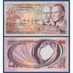 LUXEMBOURG 100 FRANCS 1966 Pick 14 UNC LUXEMBURG