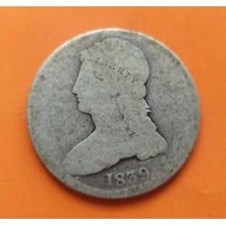 USA 1/2 DOLLAR 1911 BARBER VF- SILVER HALF