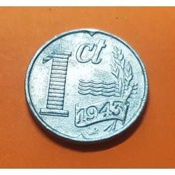 HOLANDA 1 CENTIMO 1944 KM*170 ZINC III REICH NAZI @RARA@ WWII