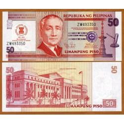 . FILIPINAS 50 PESOS 2015 Pick 207 SC PHILIPPINES PISO BILLETE
