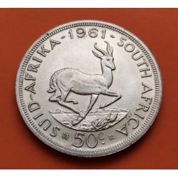 .SUDAFRICA 5 SHILLINGS 1952 BARCO PLATA SC SOUTHAFRICA SILVER