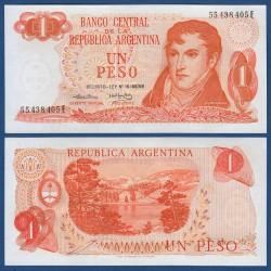 . ARGENTINA 1 PESO 1974 GENERAL BELGRANO Pick 293 SC- BILLETE