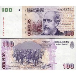 . ARGENTINA 100 PESOS 2013 EVA PERON EBC+ Pick 358 B BILLETE BAN