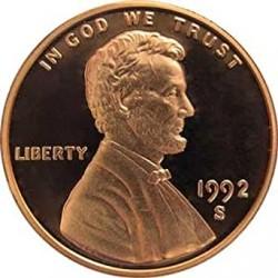 USA 1 CENTAVO 1991 P LINCOLN COPPER UNC US