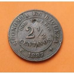 .CHILE 5 PESOS 1927 CONDOR PLATA EBC KM*173 Silver Coin