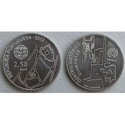 PORTUGAL 2,50 EUROS 2012 UNESCO GUIMARAES NIQUEL SC