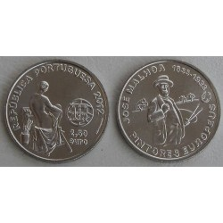 PORTUGAL 2,50 EUROS 2012 JOSE MALHOA PINTORES EUROPEOS MONEDA DE NICKEL SC