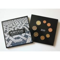 PORTUGAL CARTERA EUROS 2003 : 1+2+5+10+20+50 Centimos 1€+2€
