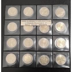 . 2 EUROS 2009 EMU ANIVERSARIO x15 PAISES DISTINTOS SIN CIRCULAR