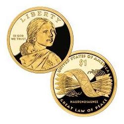 USA 1 DOLLAR INDIA SACAGAWEA 2010 S PROOF