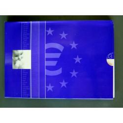 HOLANDA CARTERA OFICIAL EUROS 2003 BABY SET 1+2+5+10+20+50 CENTIMOS 1 EURO + 2 EUROS 2003 + MEDALLA ZAG.