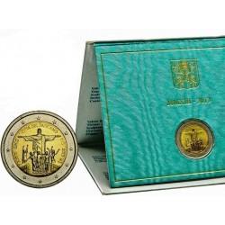 .VATICANO 2€ EUROS 2013 JORNADA JUVENTUD EN RIO DE JANEIRO ESTUC