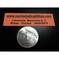 SINGAPUR 10 DOLARES 1974 HALCON EN VUELO KM.9.2A MONEDA DE PLATA SC Singapore silver coin
