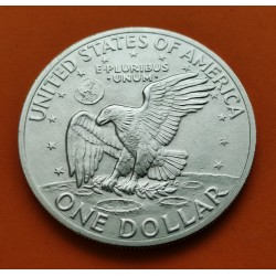 USA 1 DOLLAR 1972 S EISENHOWER SILVER BU UNC