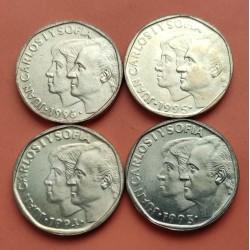 . .500 PESETAS 1993+1994 ESPAÑA JUAN CARLOS I SC Lote 2 Monedas