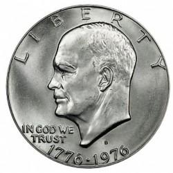USA 1 DOLLAR 1976 S EISENHOWER NICKEL PROOF TYPE 2