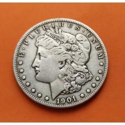ESTADOS UNIDOS 1 DOLAR 1900 O MORGAN PLATA SC Silver $1 Dollar