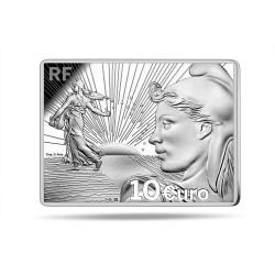 . FRANCIA 10 EUROS 2015 EUROPA PLATA Silver France Proof Set