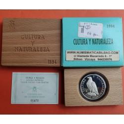 ...ESPAÑA CULTURA 5000 PESETAS 1994 AGUILA IMPERIAL PLATA SET