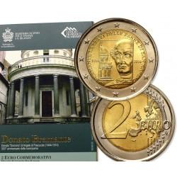 .2€ EUROS 2014 SAN MARINO DONATO BRAMANTE SC CARTERA SET