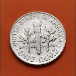 USA 10 CENTS DIME 1963 P ROOSVELT SILVER UNC