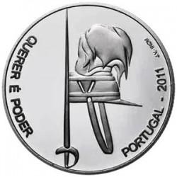 PORTUGAL 2,50 EUROS 2011 EJERCITO NIQUEL SC
