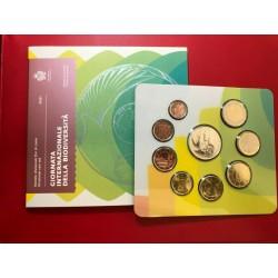 SAN MARINO CARTERA OFICIAL EUROS 2013 SC KMS BU + 5€ PLATA