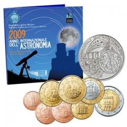 .SAN MARINO CARTERA OFICIAL EUROS 2003 BU SET KMS + 5€ PLATA